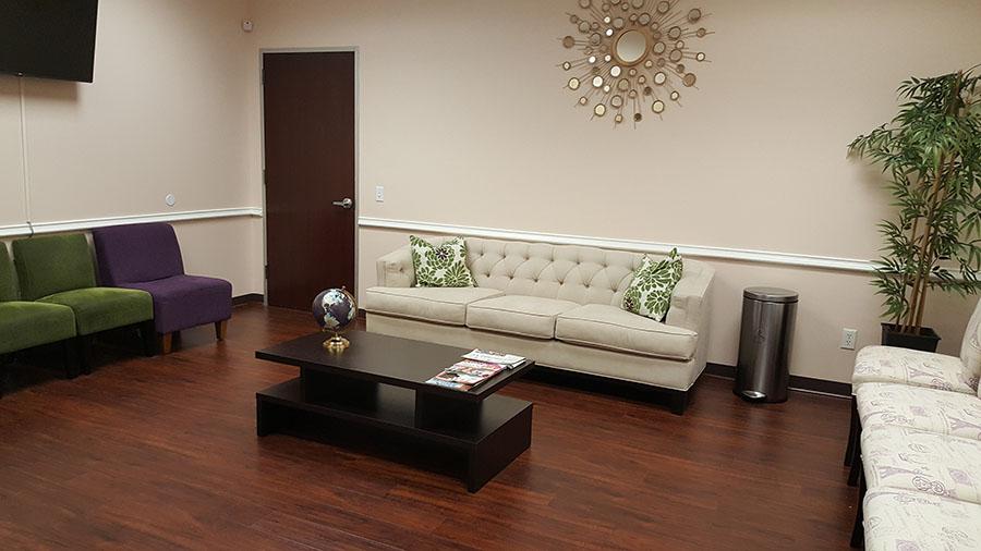Texas Endocrine Center Waiting Room